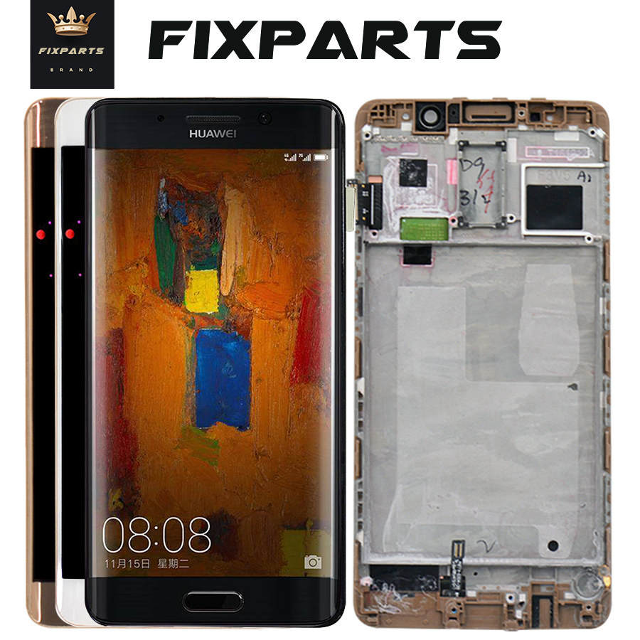 Huawei Mate 9 Pro Mate9 Pro LCD Display Touch Screen Digitizer With Frame Replacement Black 100