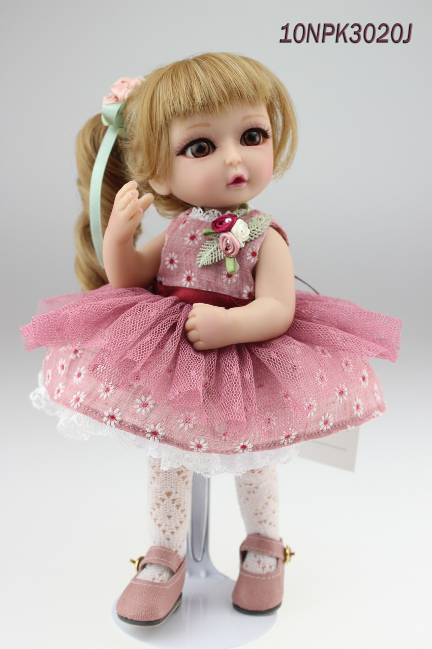 Handmade cute fairy doll mini stunning doll with joints valentine s gift