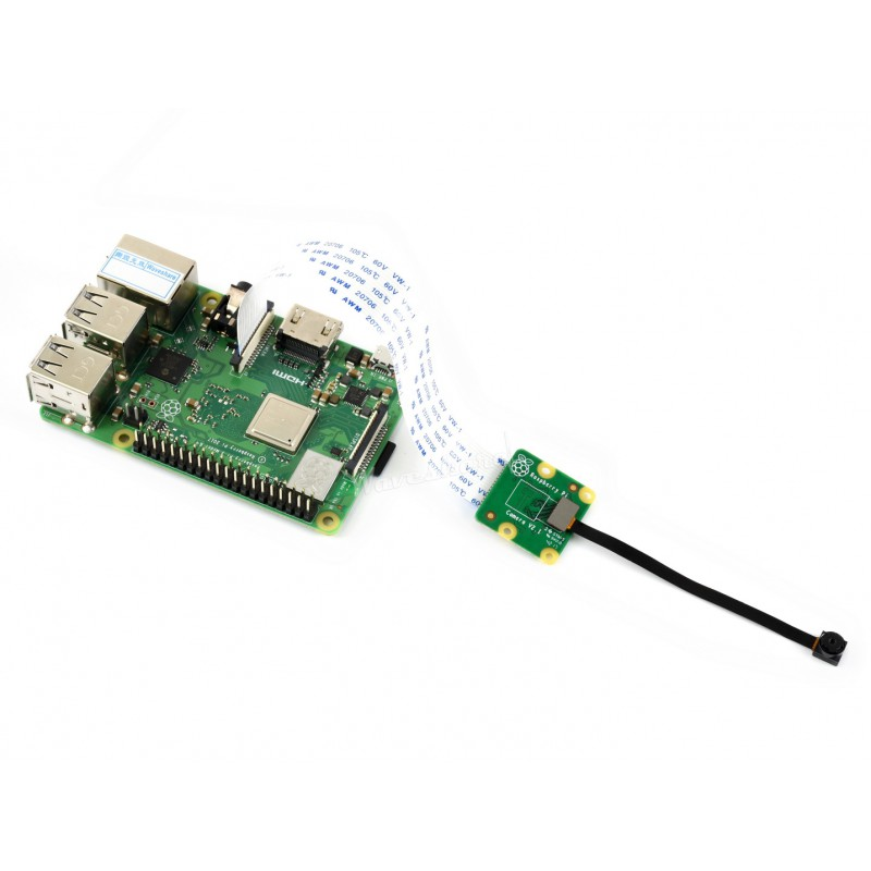 Official Raspberry Pi Camera Module 77.6 Degree FoV Sony IMX219 8-megapixel Sensor Compatible With Raspberry Pi 4/3 And 3B+