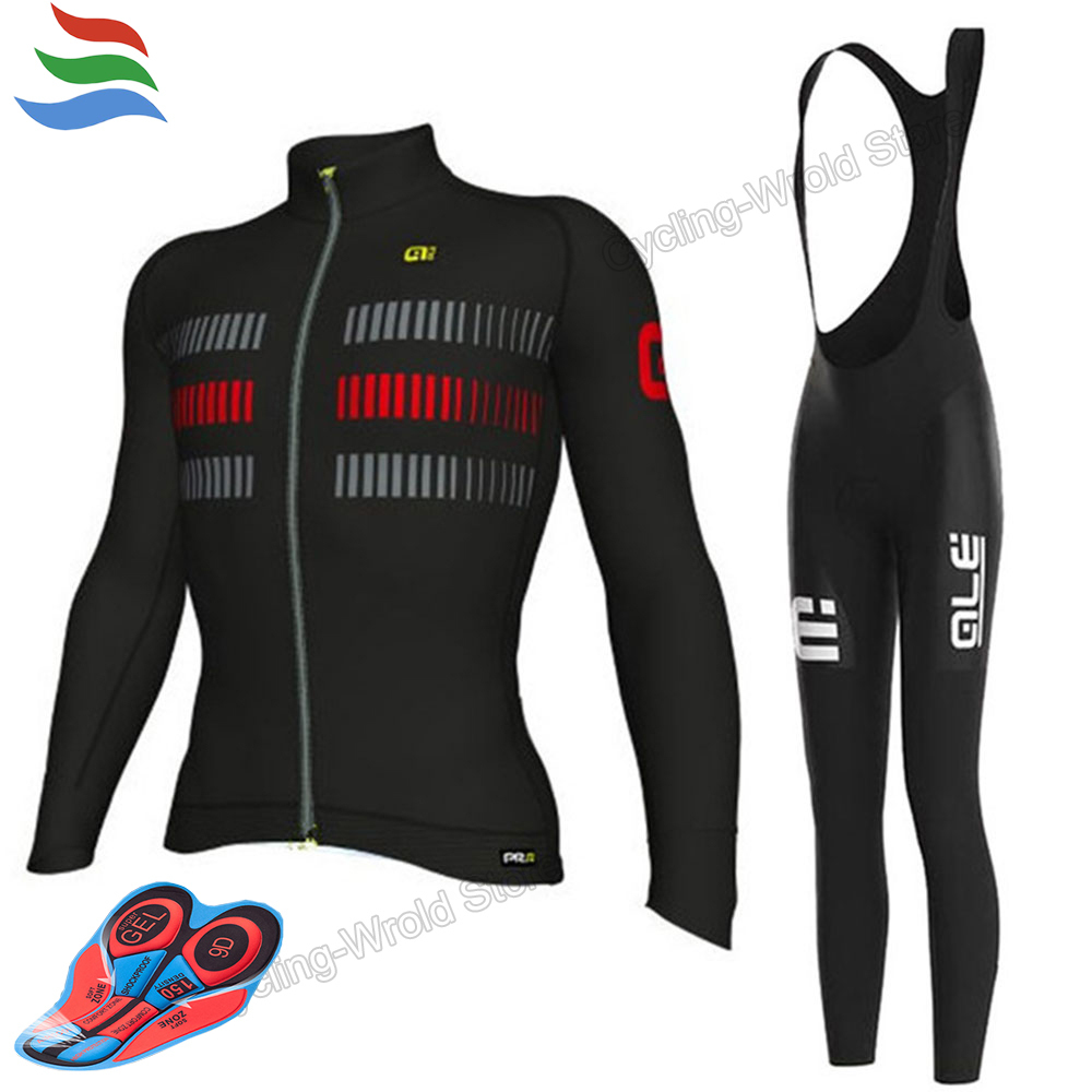 Cycling Pro Team 9D GEL Pad Ale Ciclismo Good Quality Cycling Jersey Set Quick Dry Roupa Ciclismo #619