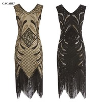 Sequined Party Dress Shiny Runway 2019 High Quality Sexy Lace Dress Sale Fringe Glitter Dress Multiway 2 Choices F0206