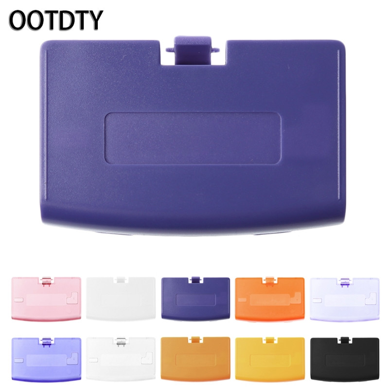 OOTDTY Games Accessories Case <font><b>Battery</b></font> Cover Case Back Door Lid Replace For Nintendo Gameboy Advance <font><b>GBA</b></font> Console