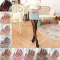 Women Ice Cream Color Ultra-thin Invisible Silk Tights Pantyhose Multiple choices Fast delivery