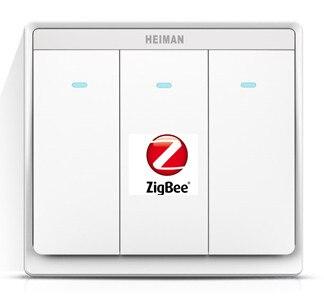 Nouveau commutateur Zigbee à 3 canaux dans la télécommande intelligente commande de commutateur intelligent d'alimentation pour les appareils ménagers marche/arrêt par App