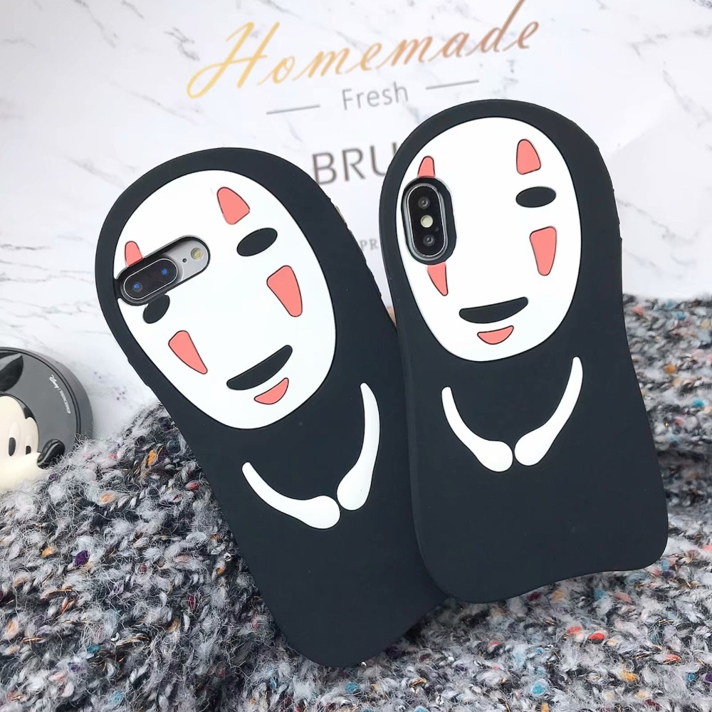 No face 3D phone case