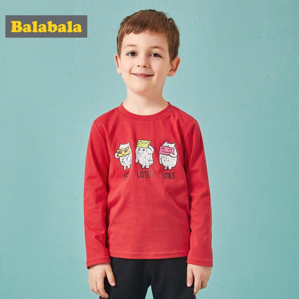 Camiseta de chándal de niños Balabala con dibujos animados de monstruo impreso niños enfant tops de manga larga niños ropa sudadera para niño