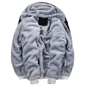 Image 5 - Sudaderas con capucha para mujer, ropa deportiva, Sudadera con capucha de algodón grueso y cálido, Sudaderas para Hombre, prendas de vestir, abrigo para mujer 5xl 2020
