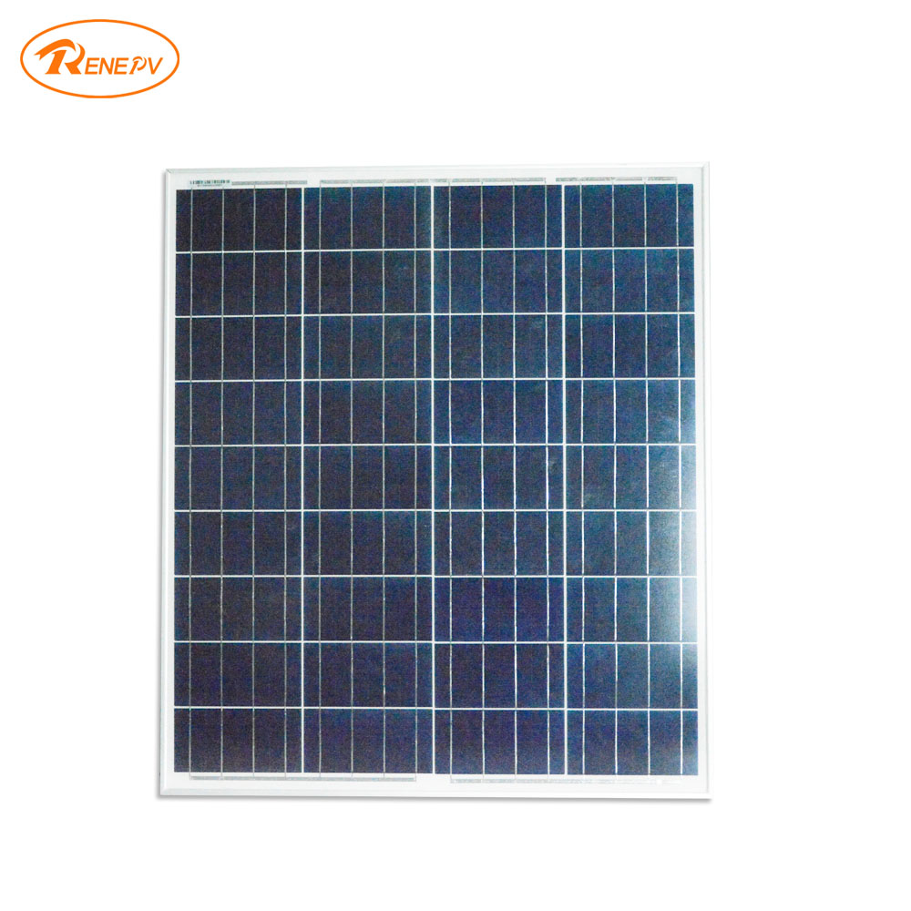 Renepv 70W polycrystalline solar modules for 18V devices outdoor charging solar battery RD70TU-18P renepv 20w polycrystalline solar panels 18v for 12v battery power charging kit