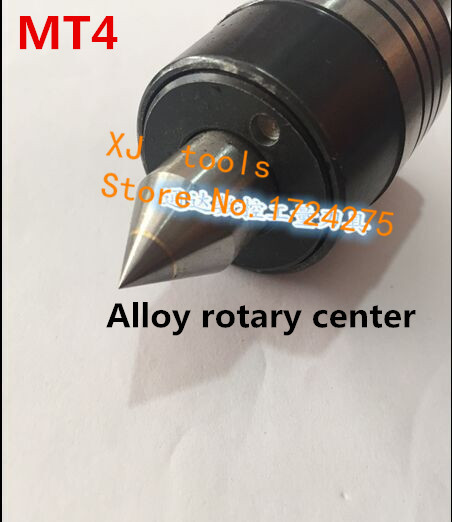 Free shipping for Alloy Precision live center MT4 center for lathe machine Revolving Centre High precision