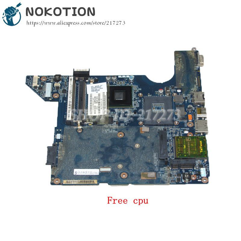 NOKOTION JAL50 LA-4101P 494035-001 MAIN BOARD For HP Compaq CQ40 Laptop Motherboard GL40 DDR2 Free Cpu
