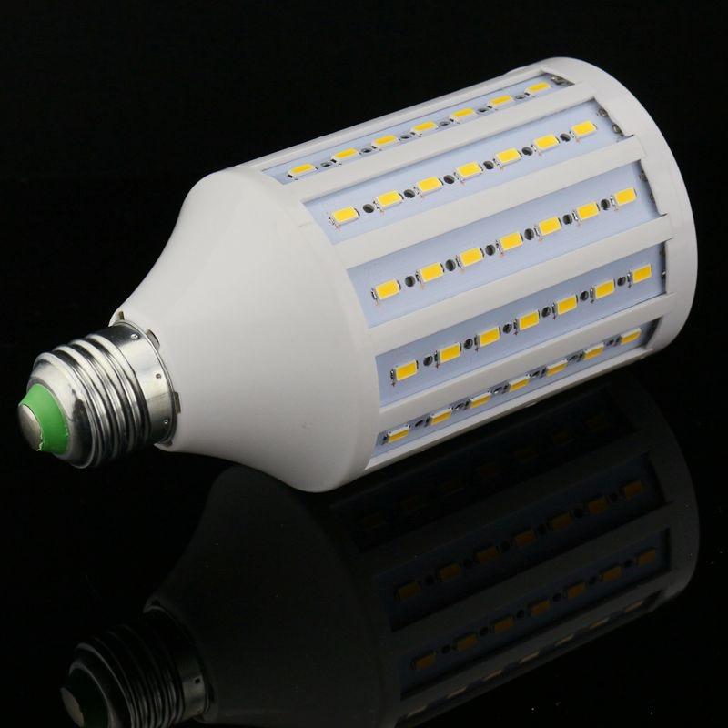 5pcs/lot Discount high light LED Corn Bulb E27 E26 E14 B22 SMD 5730/5630 102LED 30W AC165V-265V Warm/White led light lamp e26 e27 b22 18w led corn light smd5050 corn light ac85 265v