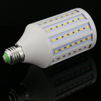 D50 5pcs/lot Discount high light LED Corn Bulb E27 E26 E14 B22 SMD 5730/5630 98LED 30W AC165V 265V Warm/White led light lamp