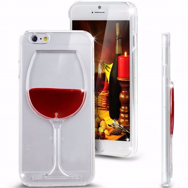 Wine-Beer-Glass-Transparent-Protective-Case-for-iPhone-5-5S-SE-6-6S-Plus-Liquid-Shell (1)
