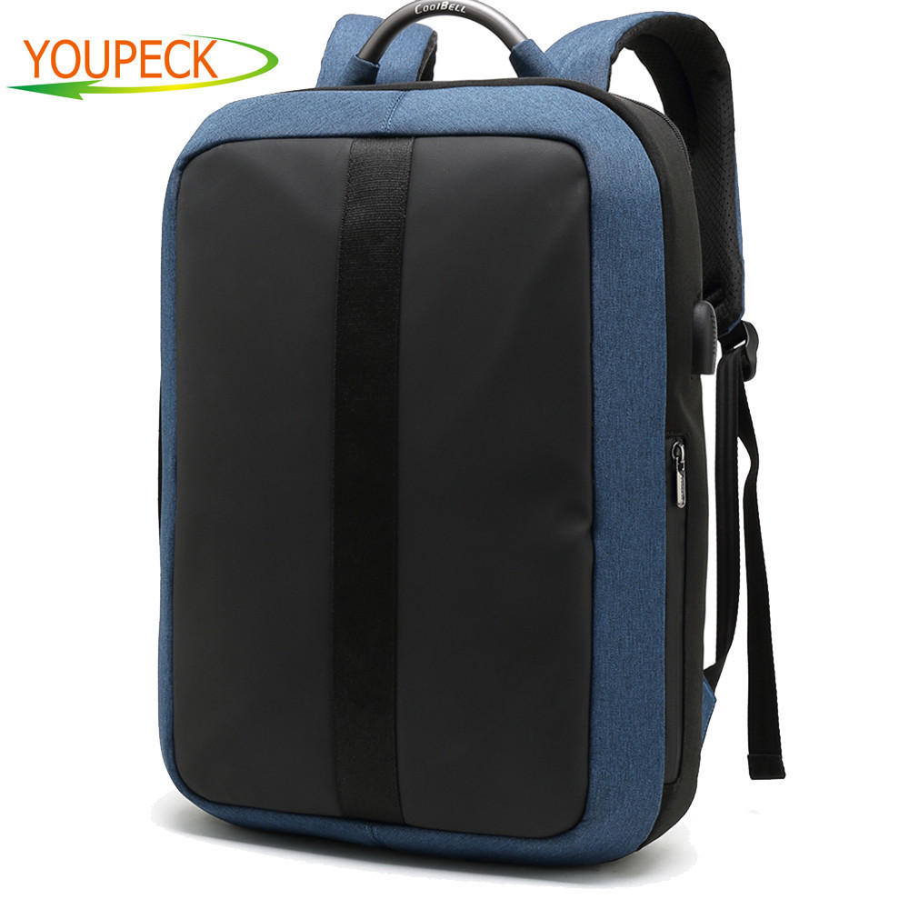 CoolBell Laptop Backpack with USB Charge 15 15.6 inch laptop bag Anti thief Student School backpack For Teenager Mens Travel bag coolbell brand laptop bag 15 6 15 inch laptop backpack computer travel backpack bag men women mochila escolar school office bags