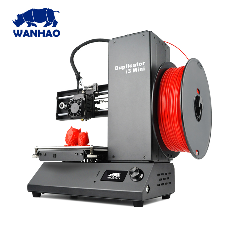 wanhao I3 MINI DIY kit 3D color Printer machine 3/1.75mm PLA filament material Personal 3d printer single extruder impresora 3d 3d принтер wanhao i3 mini