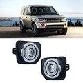 Excelente 55 W Bulbos de Halogênio Fonte de Luzes de Nevoeiro COB Angel Eye Bumper Capa Para Land Rover Discovery 4 2014-2016