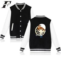 Funny Jacket BTS Kpop Baseball Winter Jacket Women And Streetwear Style Jaqueta Feminina Korean Bangtan Jacket
