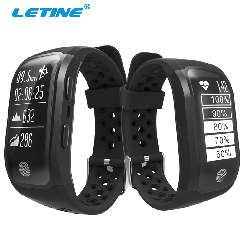 Letine G03 Smart Bracelet Heart Rate Monitor GPS Tracker Wristband IP68 Waterproof Fitness Watch Bluetooth Connect for Android bluetooth smart wrist watch blood pressure watches bracelet heart rate monitor smart fitness tracker wristband for android ios