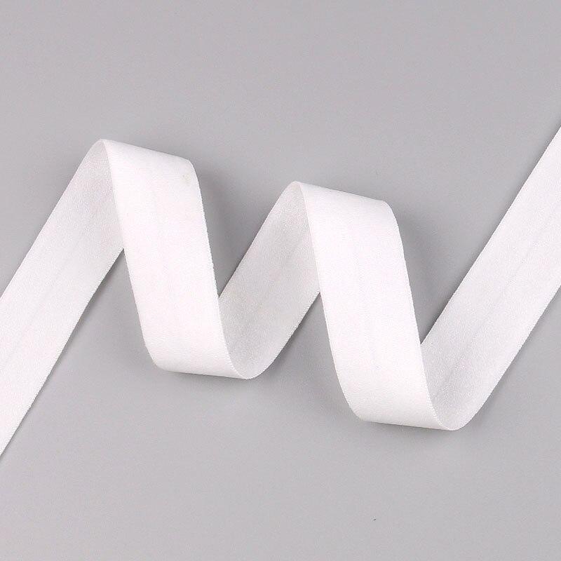 5 ярдов/Лот 20 мм ширина 34 цвета эластичная лента использование для diy аксессуары и одежда галстук лента для волос