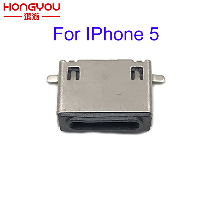 2Pcs Micro USB Connector For Apple Iphone 5 Testing