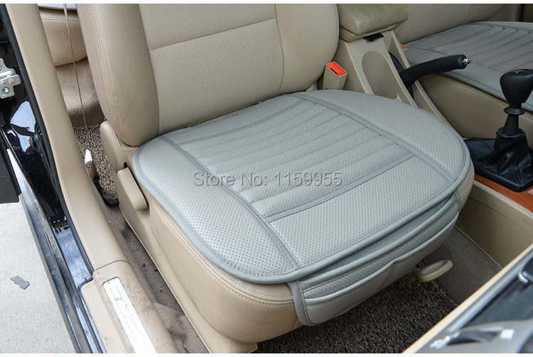car supplies Car seat covers premium car seat cushion bamboo charcoal leather monolithic reiz K5 A4 A5 seat cushion in Automobiles Seat Covers from Automobiles Motorcycles