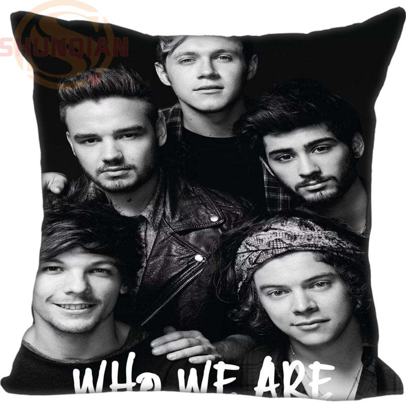 Best One Direction Pillowcase Wedding Decorative Pillow Case Custom Gift For Pillow Cover YJW#38