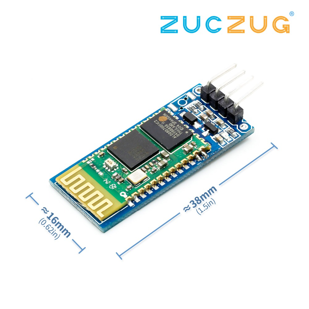 <font><b>hc</b></font>-<font><b>06</b></font> <font><b>HC</b></font> <font><b>06</b></font> RF Wireless Bluetooth Transceiver Slave Module RS232 / TTL to UART converter and adapter image