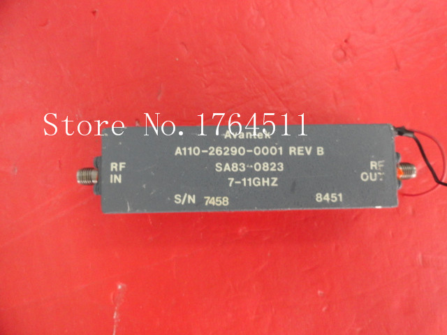 [BELLA] AVANTEK SA83-0823 7-11GHz 15V SMA Supply Amplifier