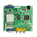 CGA EGA RGB para VGA JOGO video converter board 1 VGA jogo saída converter GBS8200