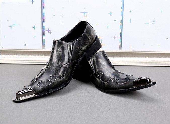 Business Mann Schwarze Männer Blue Slip sl96 Leder Formale sl96 Kleid Schuhe Mens Blue Britischen Echtes Red Neue sl103 on Spitz Luxus Loafer Purple Sl104 Stil Black sl96 Xqx7wan6
