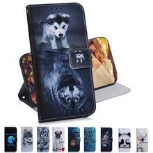 Flip Leather Case For Fundas Huawei Honor 20 Pro 8C 8X Case For Coque Huawei Y5 Y6 Y9 2019 Cover Cartoon Owl Wallet Phone Cases funny stitch case soft silicone phone case for huawei y9 2018 capa fundas coque for huawei y9 2019 silicone cover honor 8x cases