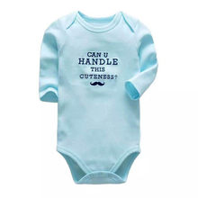 Baby Clothing Newborn Romper Babies Body Long Sleeve 3 6 9 12 18 24 Months Baby Clothes(China)