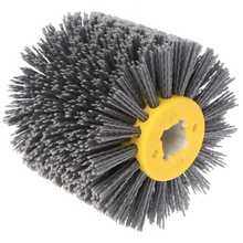 Deburring Abrasive Wire Drawing Round Brush Head Polishing Grinding Tool Buffer Wheel For Furniture Wood Sculpture Rotary Dril