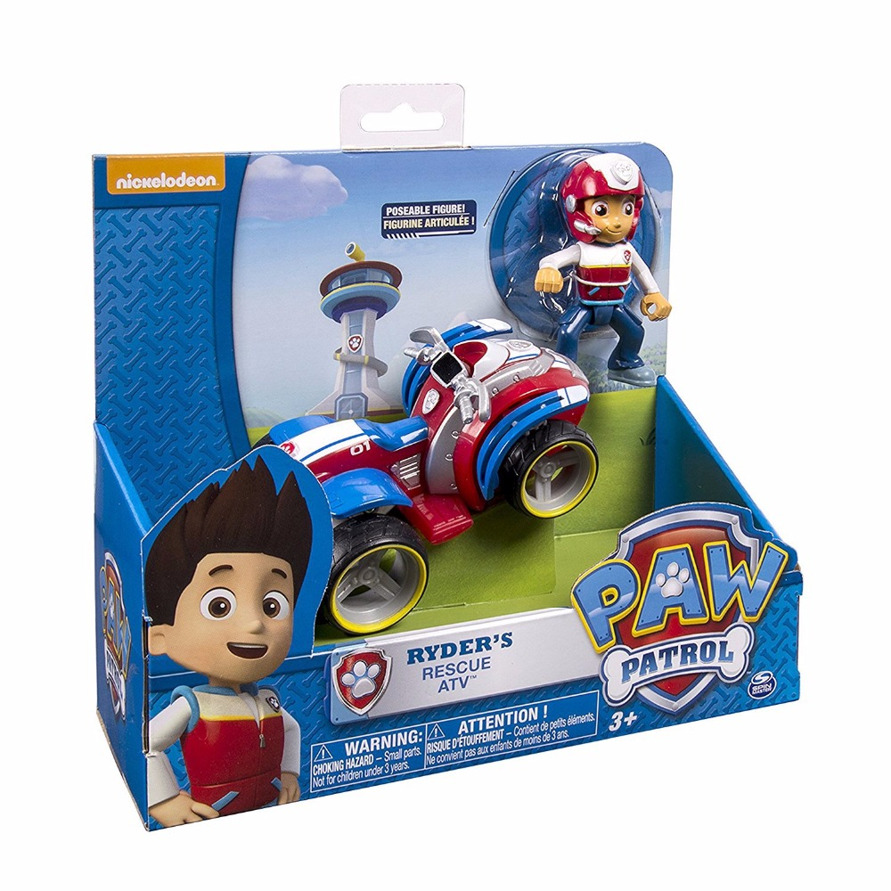 Genuine Paw Patrol dog car Canine vehicle Toy Patrulla Canina Action Figures Juguetes Patrol Canine toys canine patrol dog toys russian anime doll action figures car patrol puppy toy patrulla canina juguetes gift for child