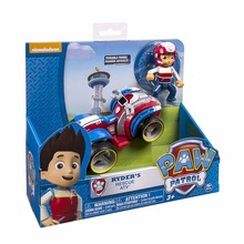 Genuine Paw Patrol dog car Canine vehicle Toy Patrulla Canina Action Figures Juguetes Patrol Canine toys цена в Москве и Питере