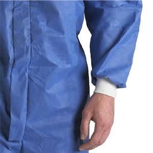 Image 3 - 3M 4532 معطف واقي غرف الأبحاث الملابس ومكافحة ساكنة مكافحة الكيميائية السائل سبلاش الإشعاع حماية فعالة الجسيمات
