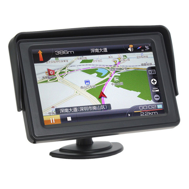 Venda quente de 4.3 Polegada 480x272 TFT a Cores LCD Car Rear View Monitor de Estacionamento de Backup Do Reverso Do Carro Monitor de Reverter câmera DVD