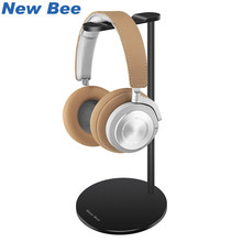 New Bee Metal Headset Stand Rack Gaming Headphone Holder Earphone Hanger Earbuds Bracket for All Size Gaming and Audio Headset(China)
