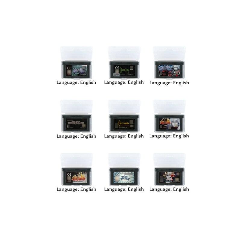 32 Bit Video Spiel Patrone Konsole Karte Castlevaniaa Serie UNS Englisch Sprache