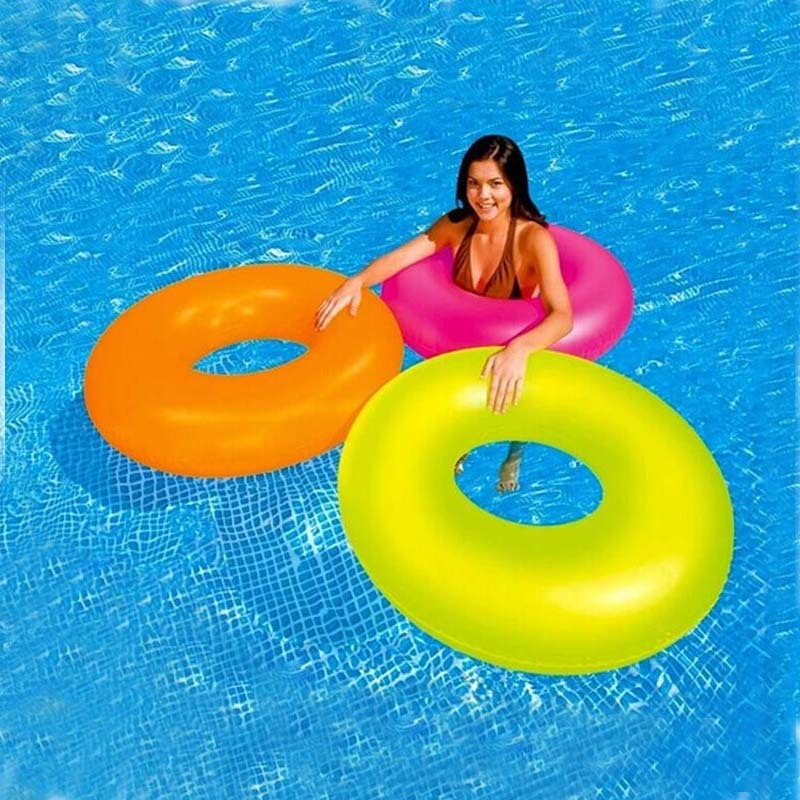 Transparent swim ring adult floating ring life buoy - Swimming pool accessories for adults ...