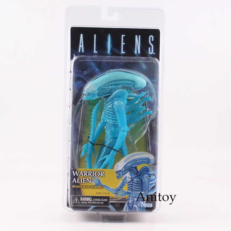 Anitoy NECA Chest Burster Queen Face Hugger Warrior Alien Action Figure PVC Toy Gift 18.5~21cm 1