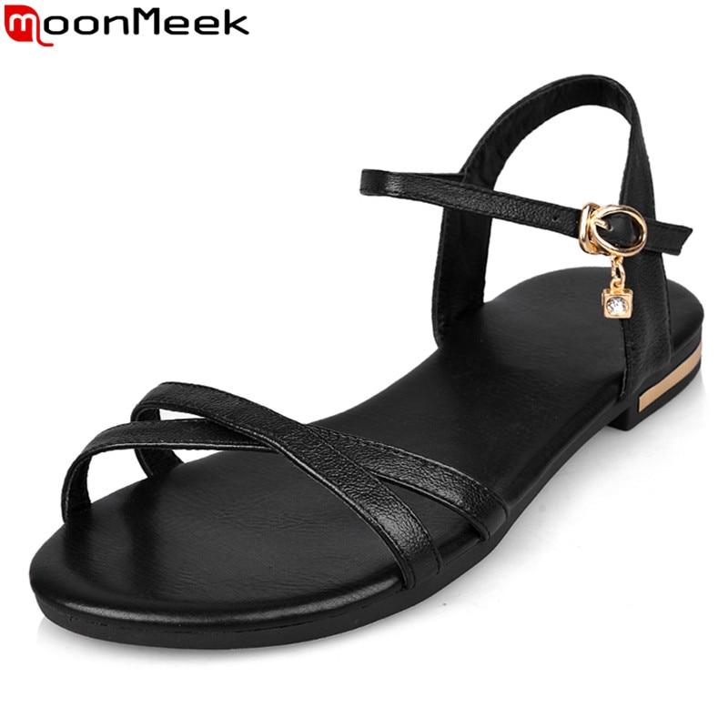 """""""MoonMeek"""" didmeninė prekyba 2018 Natūralios odos moterų - Moteriški batai"""