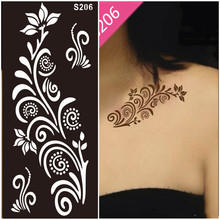 Fashion New Tattoo Stencils For Body art Painting Mixed designs for glitter tattoo kits Supplies