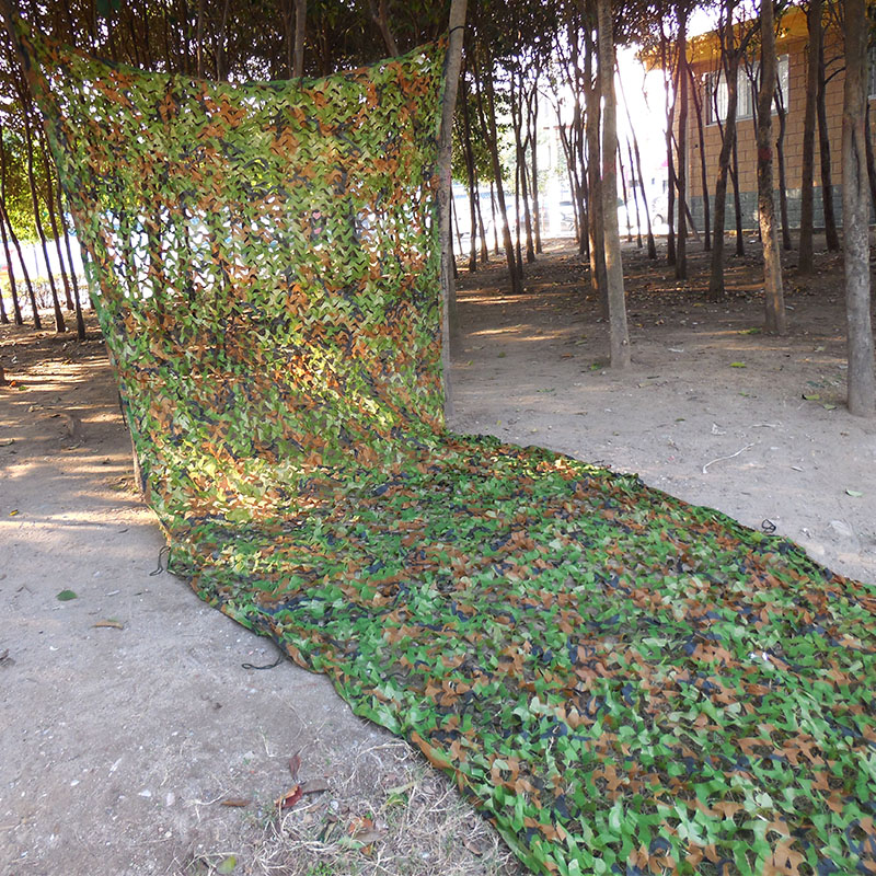 3x5m Military woodland leaves camouflage net jungle camo netting Hunting Camping camoflage Photography background