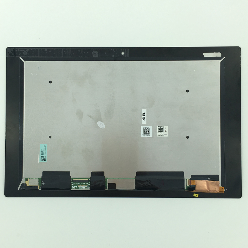 5PCS TEST GOOD LCD Display Panel + Touch Screen Digitizer Assembly For Sony Xperia Tablet Z2 SGP511 SGP512 SGP521 SGP541 SGP561 lruiize 100% test black lcd display screen for sony xperia z2 d6502 d6503 d6543 l50w touch digitizer assembly tools