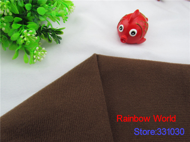 Brown Adhesive Fastener fabric for DIY patchwork Stuffed toys sofa - Arts, Crafts and Sewing