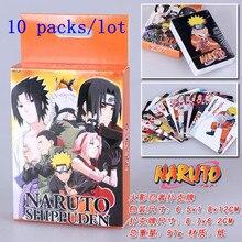 10 упаковок/партия игрушки Наруто покер для игровая Коллекция PK007 оптом