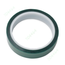 5 шт./лот 0.06 мм x 20 мм x 33 м(100ft) зеленый ПЭТ Клейкие ленты высокого Температура жаропрочных для pcb защиты припоя