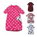 Bebê recém-nascido de Lã Sacos de Dormir Sacos de Dormir Do Bebê da Roupa Do Bebê Das Meninas Dos Meninos Roupas