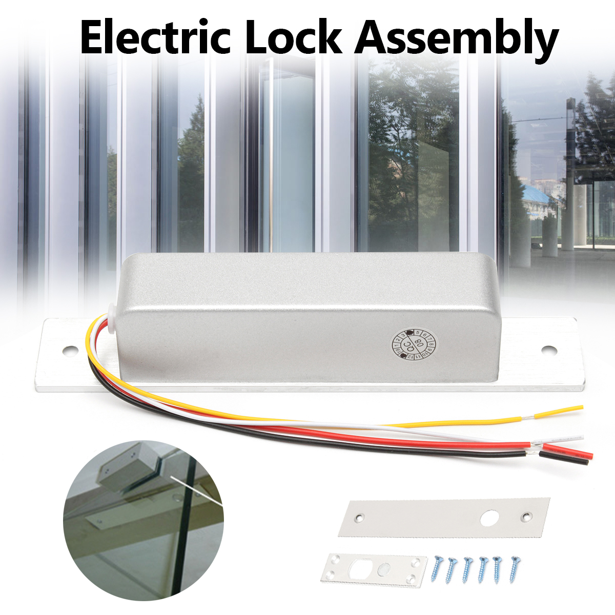 DC 12/24V Aluminium Alloy Ultra-low Temperature Electric Bolt Lock Delay Power off Lock Door Access Control System Security Lock dc 12v electric bolt lock with low temperature aluminium alloy for door controller magnetic induction electric bolt lock